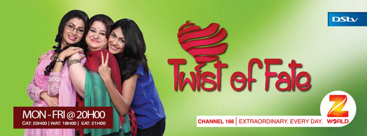 TWIST OF FATE ZEE WORLD FULL STORY - ZEE WORLD INTERNATIONAL
