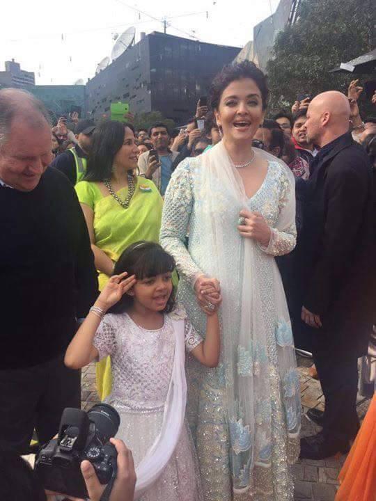 Aishwarya Rai Bachchan Daughter Aaradhya At The Flag Hoisting Ceremony Today Iffm20