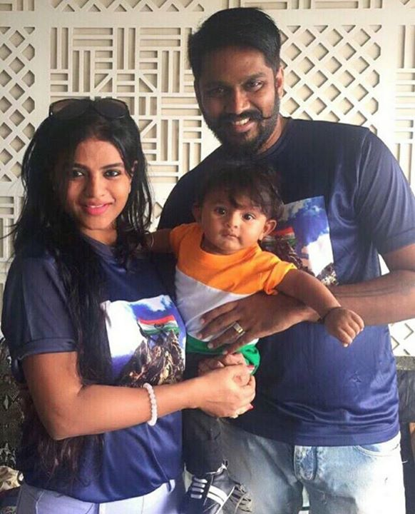 Family Picture Family Is Everything For This Beautiful Damsel Mitaali Nag Alias Krishi