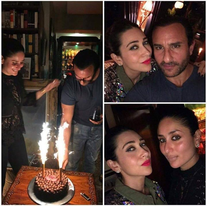 Pics From Saifalikhan S Birthday Bash