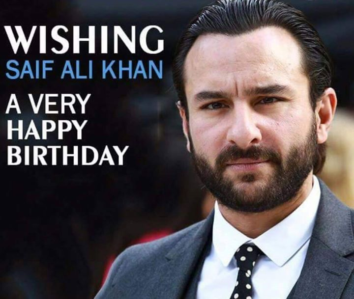 Suave Stylish Wishing The Versatile Actor Saifalikhan A Very Happy Birthday