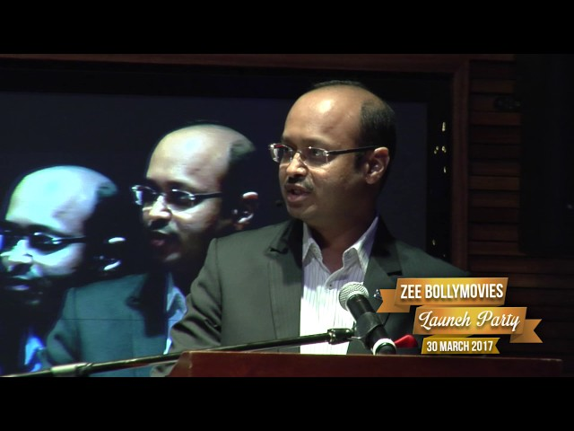 ZEE TV CEO Harish Goyal's  Zee BollyMovies Launch Speech