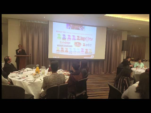 Zee World: Speech By CEO Harish Goyal – Marketing Trade Breakfast